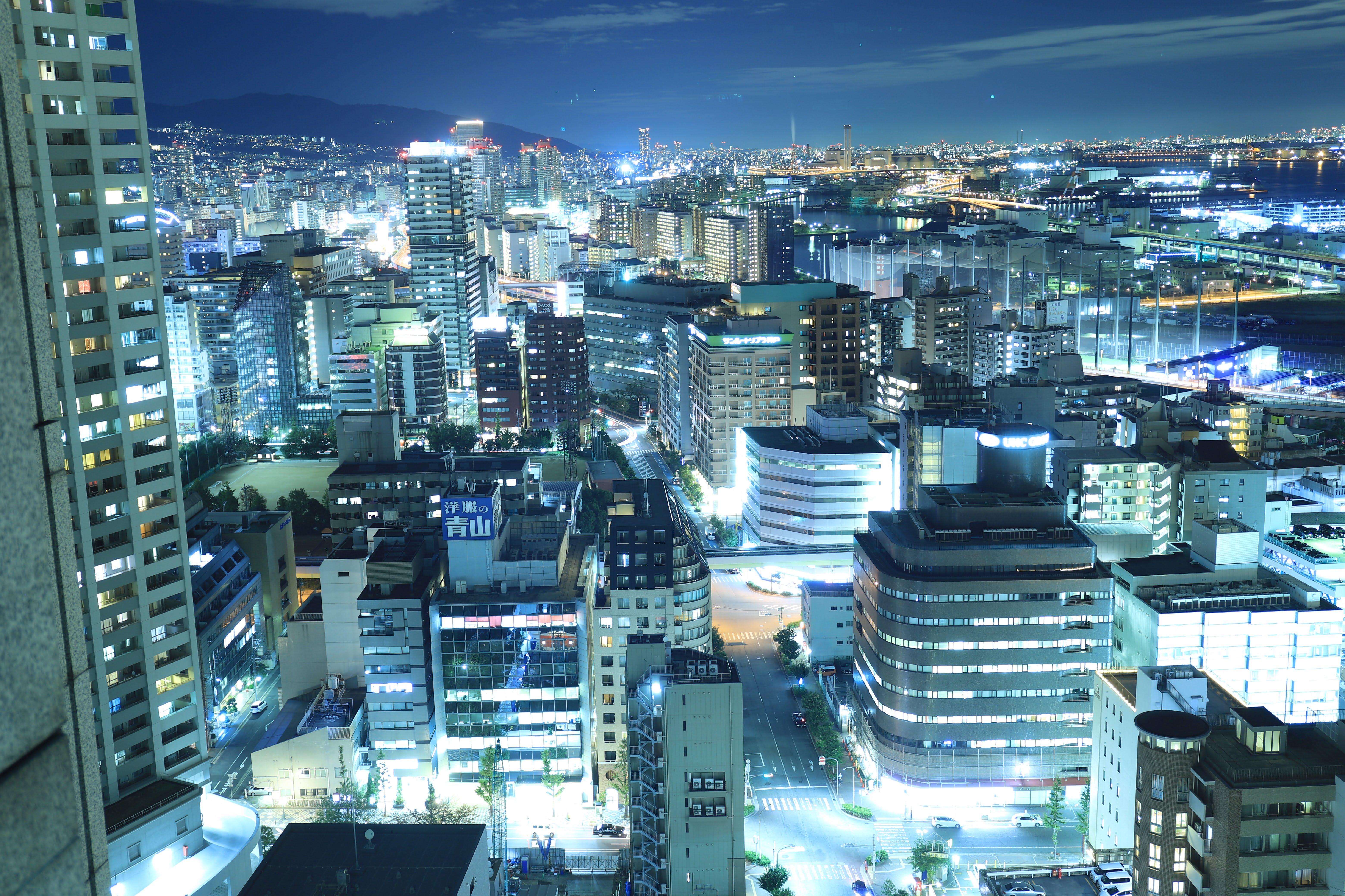 セリオン秋田県ライトアップはきれい?釣りは夜にできるの?意味は?