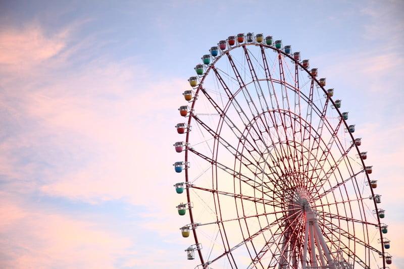 秋田県大森山遊園地のジェットコースターと観覧車はどんな感じ?
